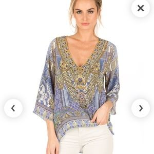 SOLD OUT Camilla, All a Dream -Embellished top, XS